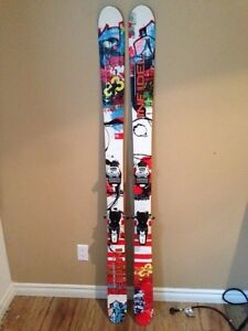 Skis G3 Infidel 175cm. Twin tip. Marker Squire