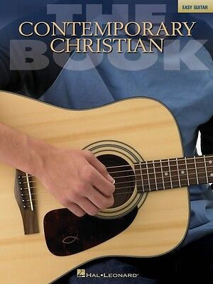 The Contemporary Christian Book Sheet Music Easy Guitar Book NEW 000702195