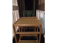 High Chair/Table & Chair