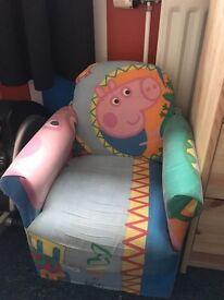 Children's chair -George pig/ peppa pig