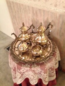 Silver plated tea and coffee set Peterborough Peterborough Area image 1