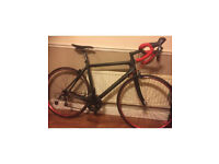 One off Planet x road bike fall carbon frame
