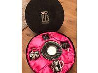 Laurence Llewelyn-Bowen for Royal Worcester Espresso Coffee Cup & Saucer Gift Set - Black & Pink