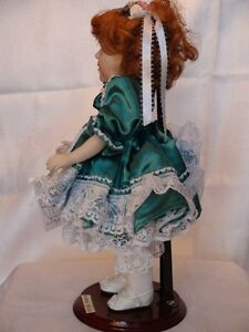 Meggan's Collectors Canadian Procelain Handmade Doll Anna Belle London Ontario image 4