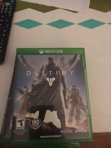 Xbox one games (destiny, the division, rainbow six siege)