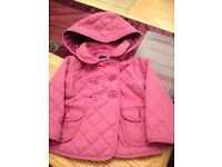 Girls age 2yrs coat from Gap