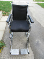 SMALL SIZED WHEELCHAIR -- REPAIR NEEDED