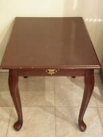 Side table (Queen Anne Style)