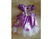 Princess Sofia dress. Age 1-2