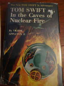 TOM SWIFT JR – Tom Swift & In the Caves of Nuclear Fire DJ NR MT London Ontario image 1