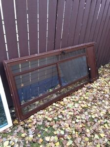 "34"" screen door with frame"
