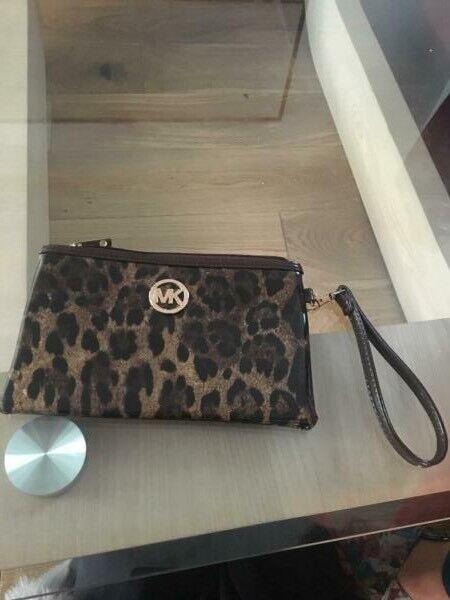 08226f880634 MICHAEL KORS (MK). Leopard print purse | in Middlesbrough, North ...
