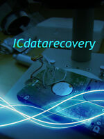 Service of hard disk data recovery (hardware/software problems)