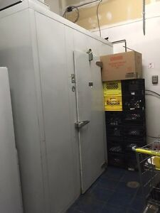 large cooler for store using