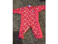 Splash about all in one suit, 6-12 months