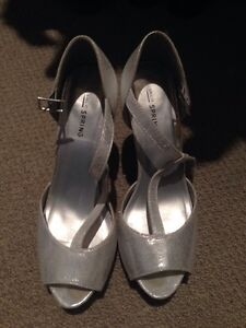 Adidas running shoes and silver heels Kitchener / Waterloo Kitchener Area image 3