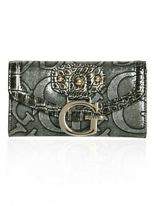 2 GUESS wallets grey and silver