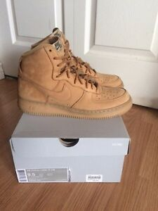 "Air Force 1 High ""Flax"" Size 9.5 OBO"