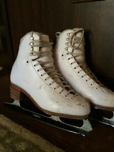Jackson Womens Figure Skates Size 5.5 B with Legacy Ultima Blade