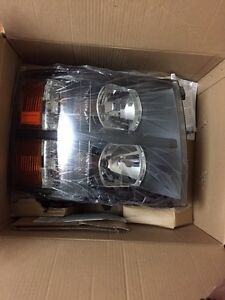 Silverado 2008 -2013 head lights