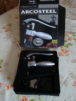 ARCOSTEEL CORKSCREW with stand  NEW in BOX