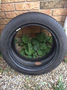 1 - 205/50/16 Goodyear tire - good tread