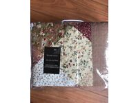 Kingsize Quilted bedspread and pillow cases £16