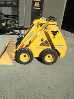 BOBCAT STYLE MINI SKIDSTEER (WITH ATTACHMENTS) FOR SALE