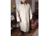 Genuine Timberland Gents Trench coat.