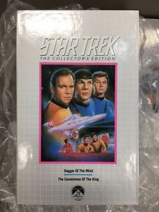 Star Trek The Collector's Edition VHS tapes - full set