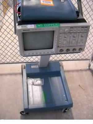 Tektronix Tds460 Oscilloscope Wk212portable Cart