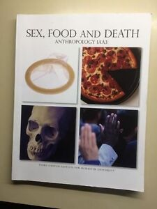 Sex, Food, and Death - Anthropology Mcmaster 2016- 2017