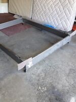 Sealy Queen size Mattress,Box Spring and Frame.