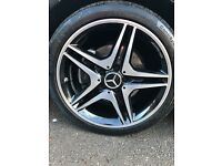 ***GENUINE MERCEDES AMG ALLOYS***