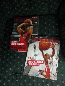 Toronto Raptors Magazine and Game Day Update 26.10.07 Card