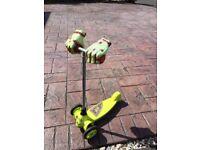 Razor monster 3 wheel scooter