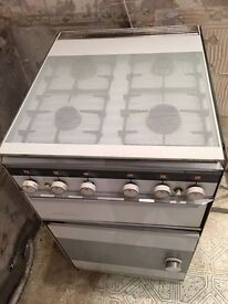 Prospect Sheerline 4 Gas Cooker with Oven and Grill