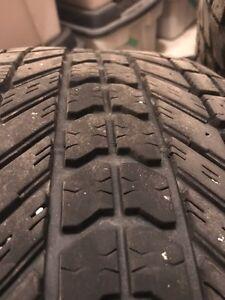 Winter tires 245/65R17 107S