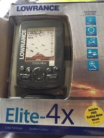 FISH FINDER LOWRANCE ELITE 4x