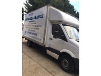 MAN AND VAN LAST MINUTE REMOVALS SPECIAL OFFER FOR LONG DISTANCE CALL 24/7