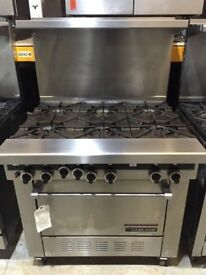 GARLAND Sentry 6 Burner Gas Range like new (2 weeks old)