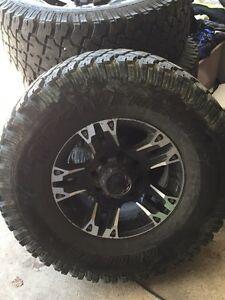 "35"" tires on 17"" rims"