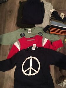 Winter clothing for ages 12-18 months.