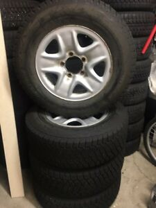 Toyota Tundra winter tires and alloys