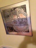 Joseph in Egypt-  Etching on Foil