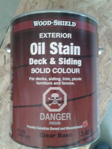 Oil Stain for Decking & Siding