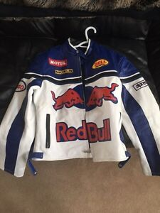 Red bull riding jacket