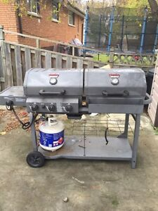 King griller BBQ and charcoal grill