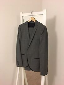 Grey Suit from Burtons