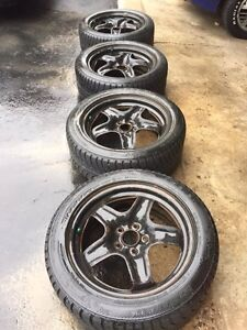 225/50R17 Winter tires  with rims
